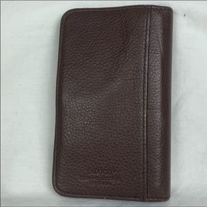 Buxton Genuine Leather Card Holder